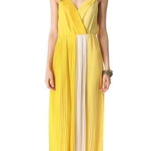 Joie pleated maxi dress